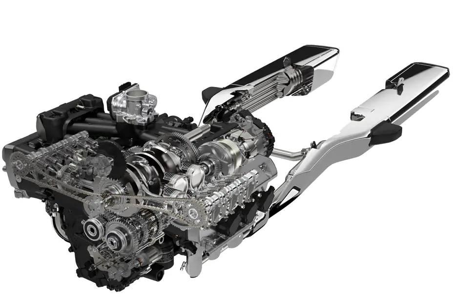 مكونات و انواع محركات الدراجات النارية