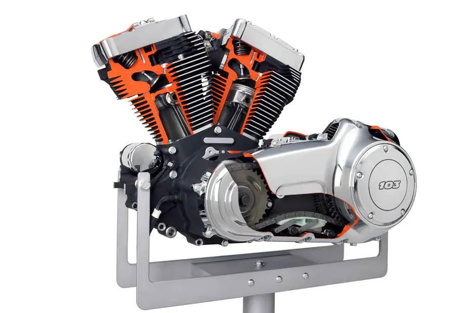 أجزاء ومكونات محرك الدراجة النارية