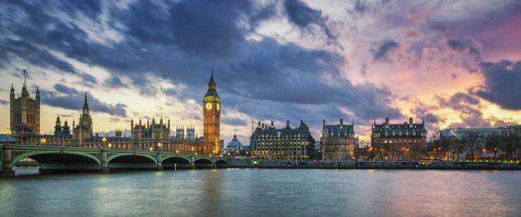 لندن .. أكبر مدينة في أوروبا