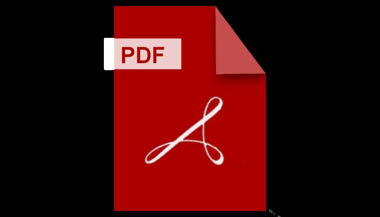 كيفية جعل ملف pdf للقراءة فقط
