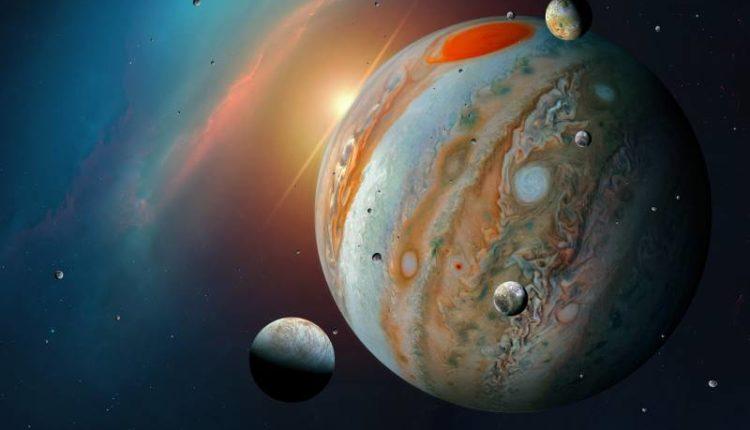 هل يمكن العيش على كوكب المشتري